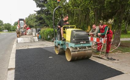 Pokládka asfaltu cena